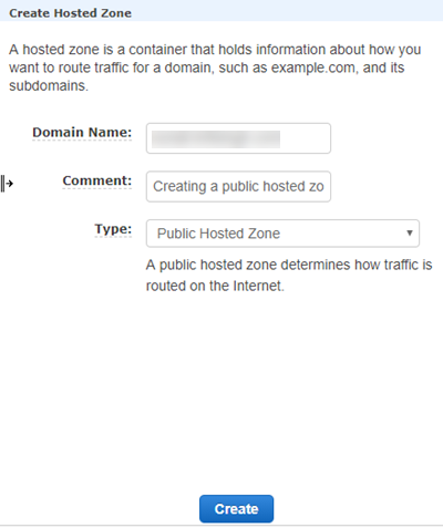 Route 53: Create subdomain as a hosted zone on R53