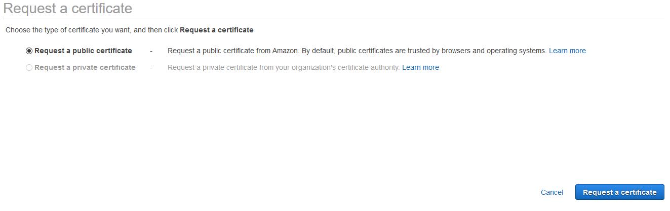 Generating Public Certificate